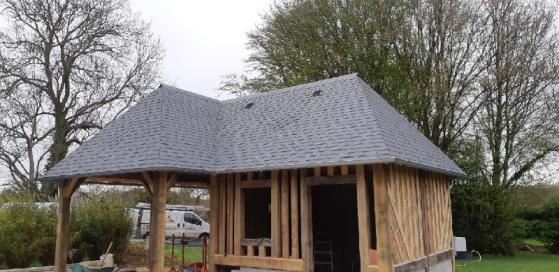Travaux couverture toiture Saline